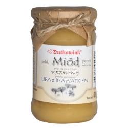 Miód lipowo-bławatkowy kremowy