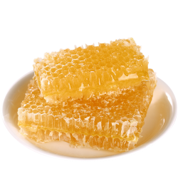 Honey in honeycomb